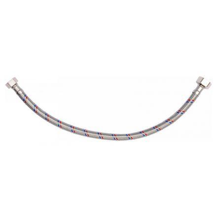 Flexibilis bekötőcső 1/2 col x 3/8 col (belső-belső) 40 cm FALA