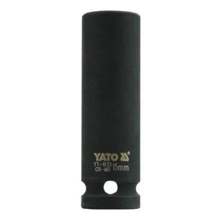 Dugókulcs gépi 1/2 col 15 mm hosszú YATO