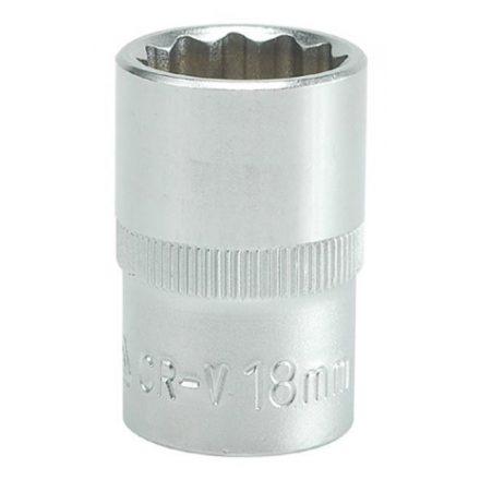 """Dugókulcs 1/2"""" 18 mm 12 szögletű YATO"""