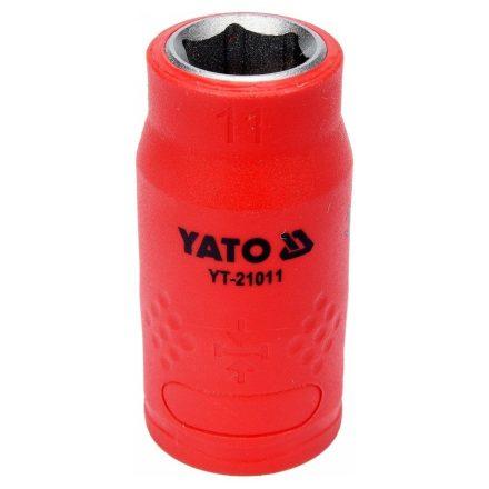 Dugókulcs 11 mm 3/8 col 1000V-ig szigetelt YATO