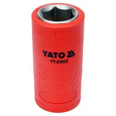 Dugókulcs 12 mm 3/8 col 1000V-ig szigetelt YATO