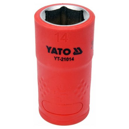 """Dugókulcs 3/8"""" 14 mm 1000 V-ig szigetelt YATO"""