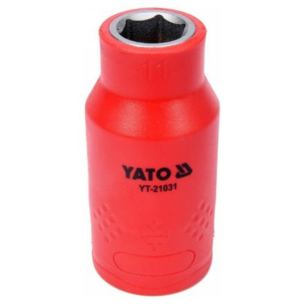 Dugókulcs 11 mm 1/2 col 1000V-ig szigetelt YATO