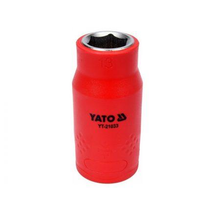 """Dugókulcs 1/2"""" 13 mm 1000 V-ig szigetelt YATO"""