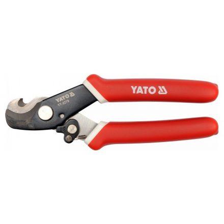 Kábelvágó fogó 170mm (10,5 mm2-ig és csavart 3,5mm ig)YATO