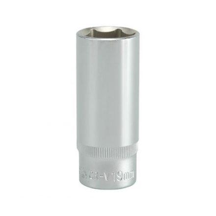Dugókulcs 19 mm 3/8 col hosszú YATO