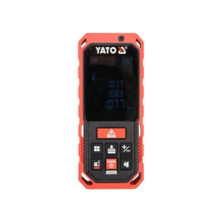 Lézeres távolságmérő 0.2-60 m IP65 YATO