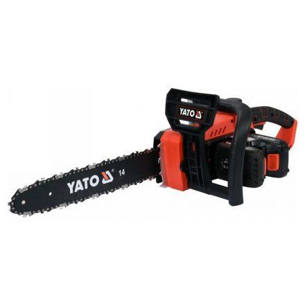 Akkus láncfűrész 35 cm 2 x 18 V (akku + töltő nélkül) YATO