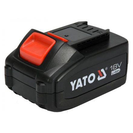 Akkumulátor 18 V 4,0 Ah Li-ion YATO