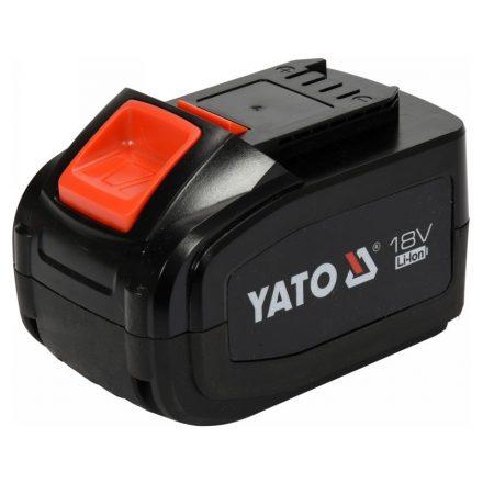 Akkumulátor 18 V 6,0 Ah Li-ion YATO